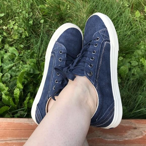 Taos Brand Plimsoul Sneakers In Denim